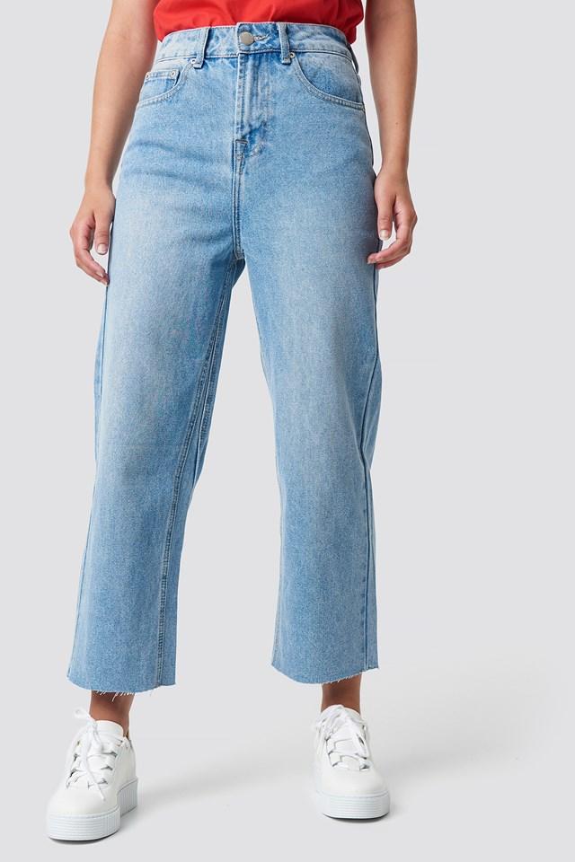 Wide Jeans NA-KD.COM