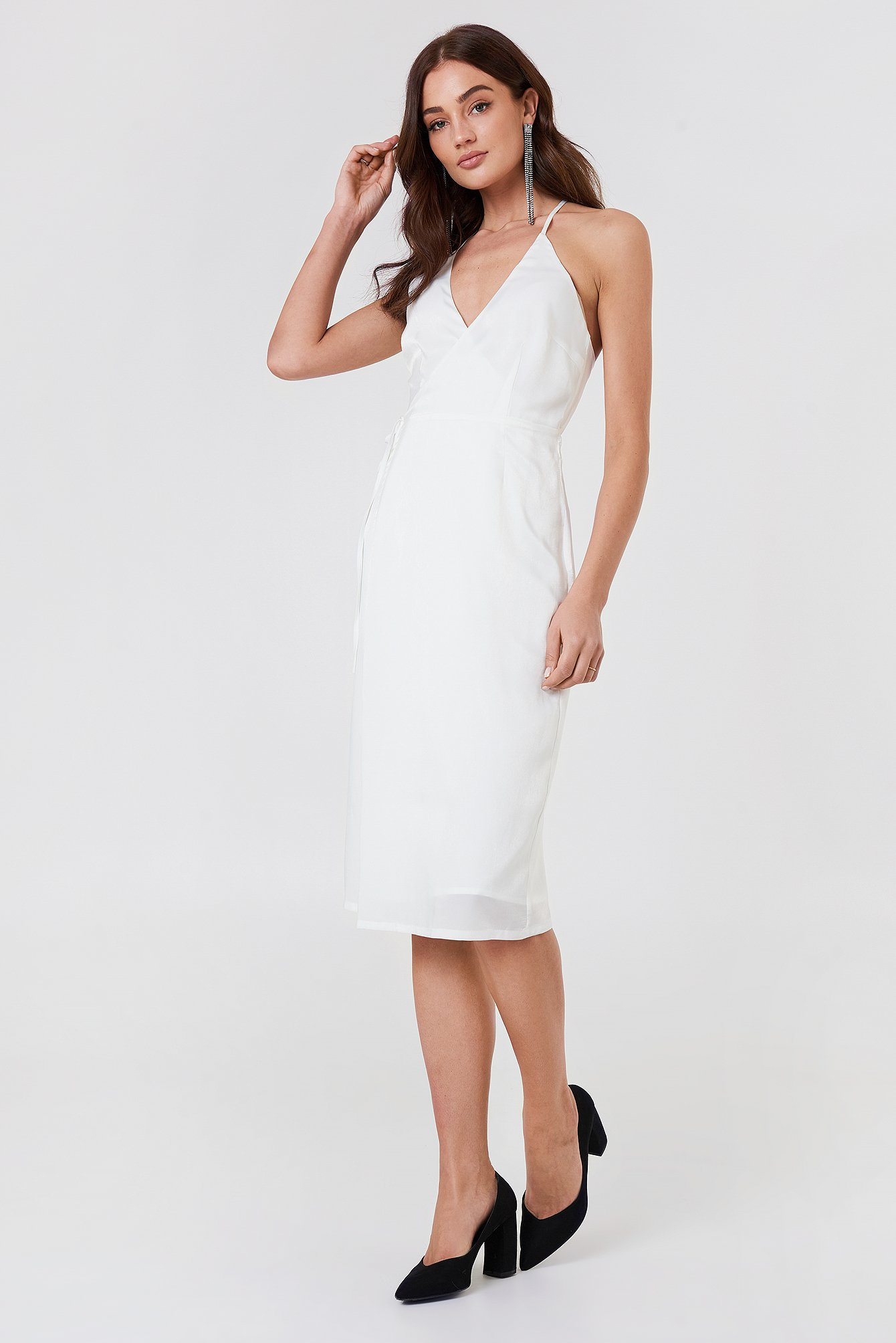 Haley Wrap Dress NA-KD.COM