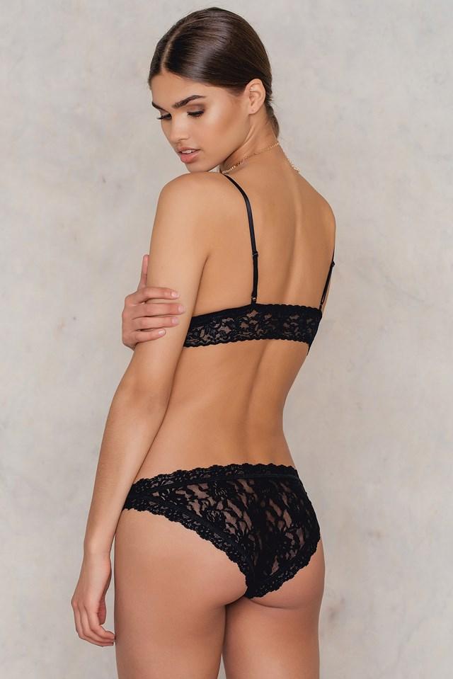 Brazilian Bikini Panties Black