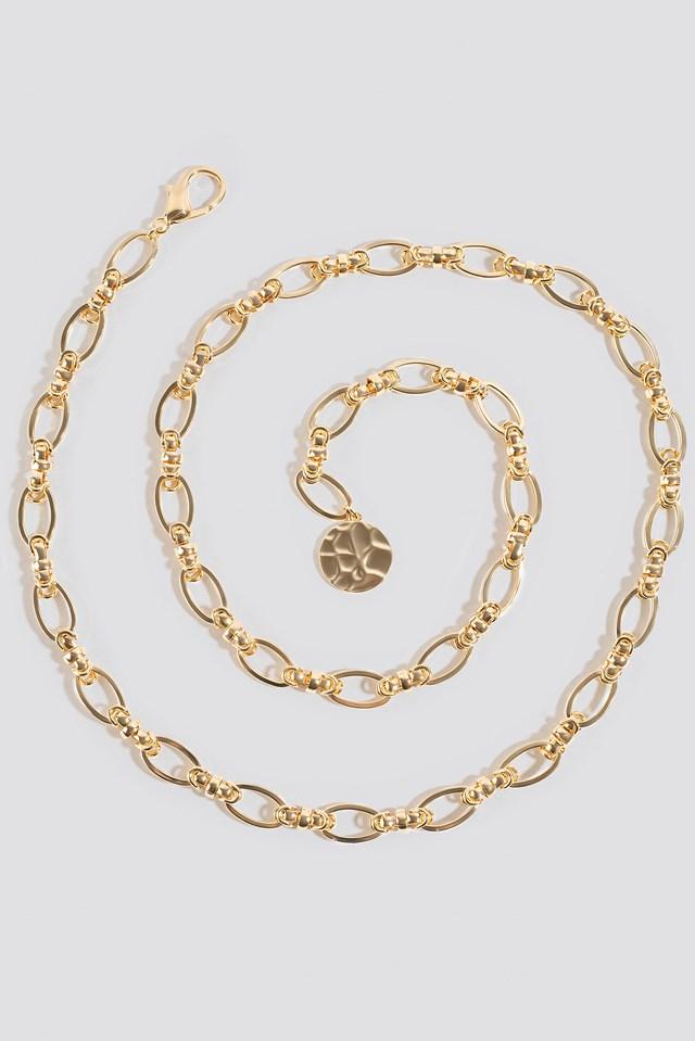 Chain Waist Belt Gold