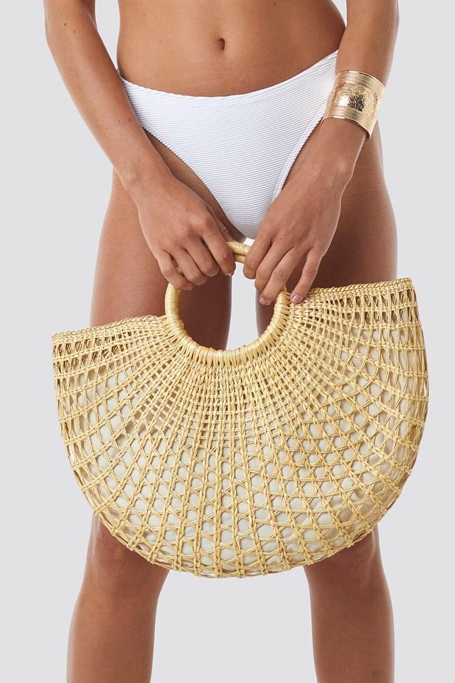 Straw Bag Beige