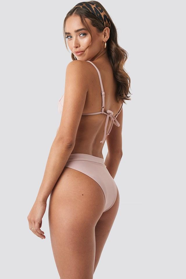 Triangle Bikini Top Blush