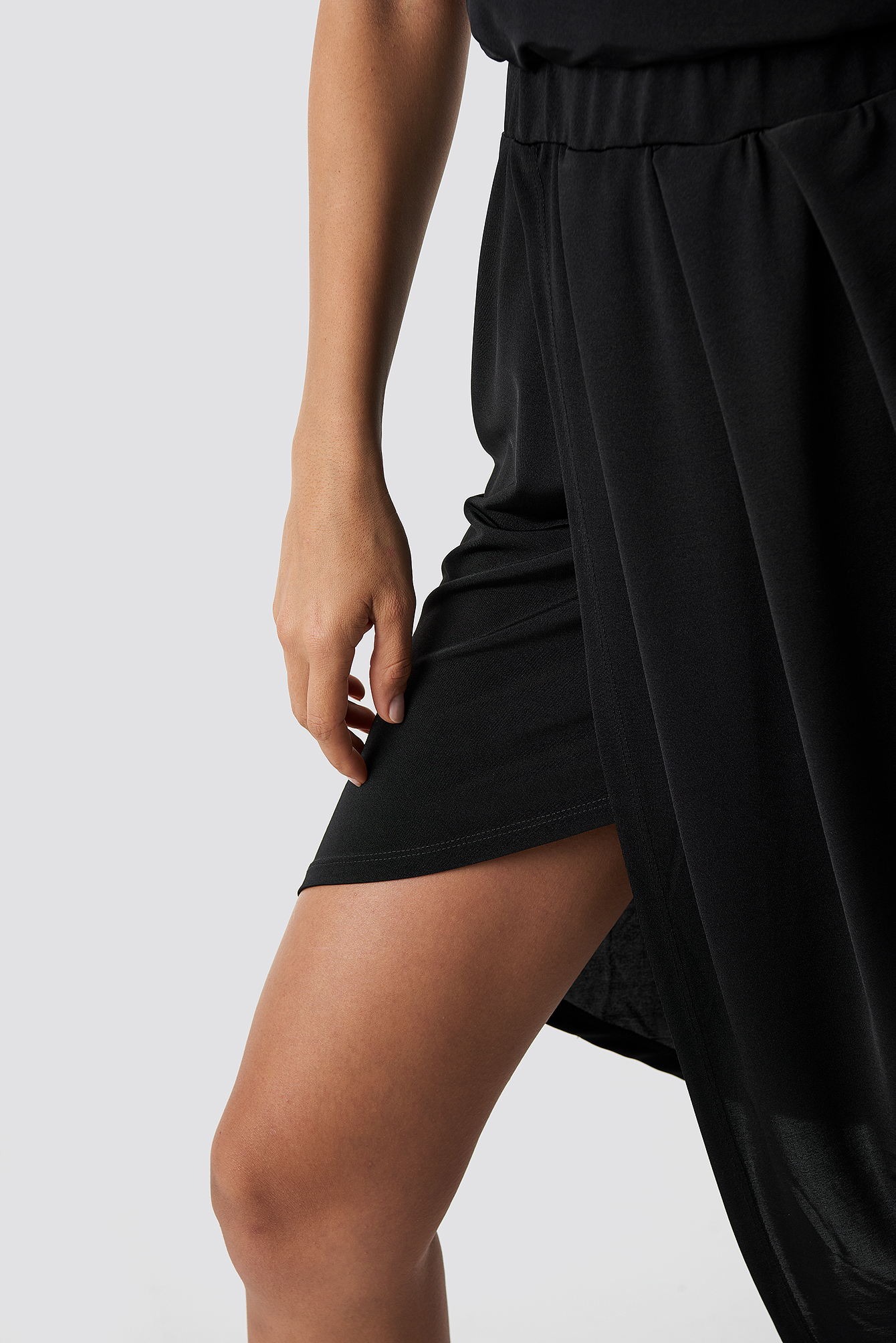 Draped Asymmetric Dress NA-KD.COM