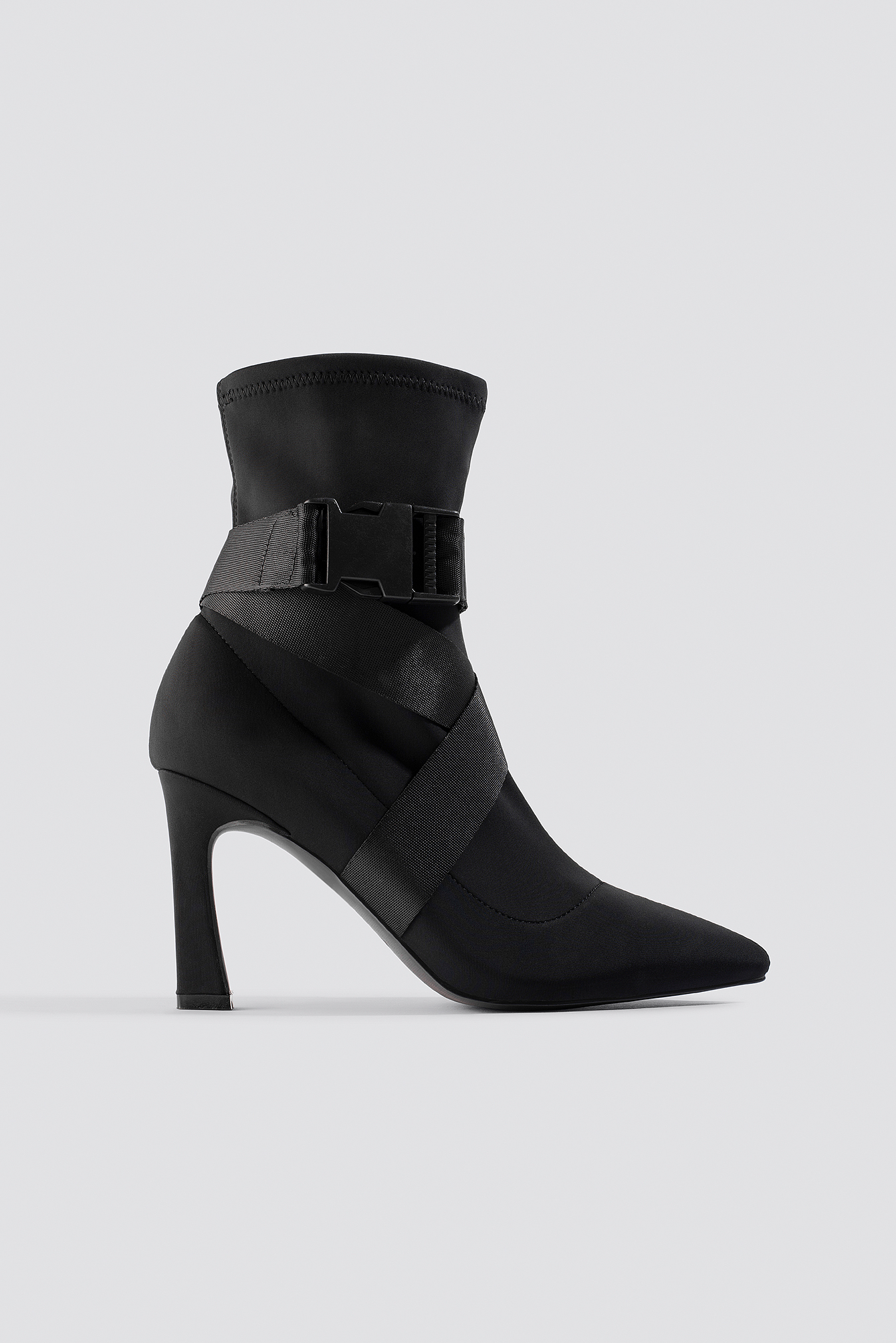 High Heel Belted Boots NA-KD.COM