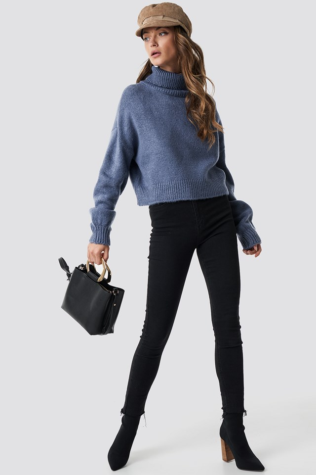 Knitted Polo Sweater NA-KD.COM