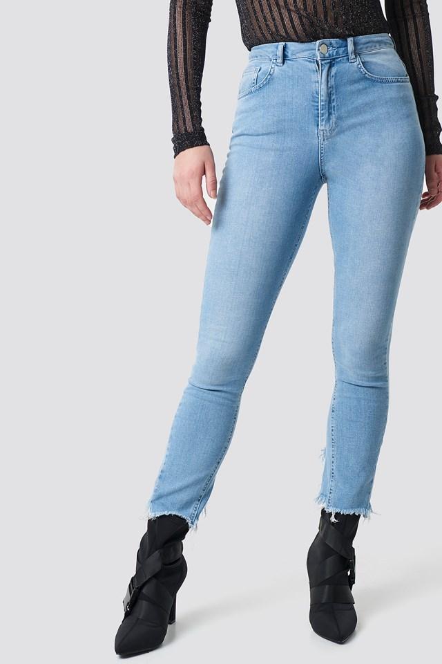 Slit Back Jeans NA-KD.COM