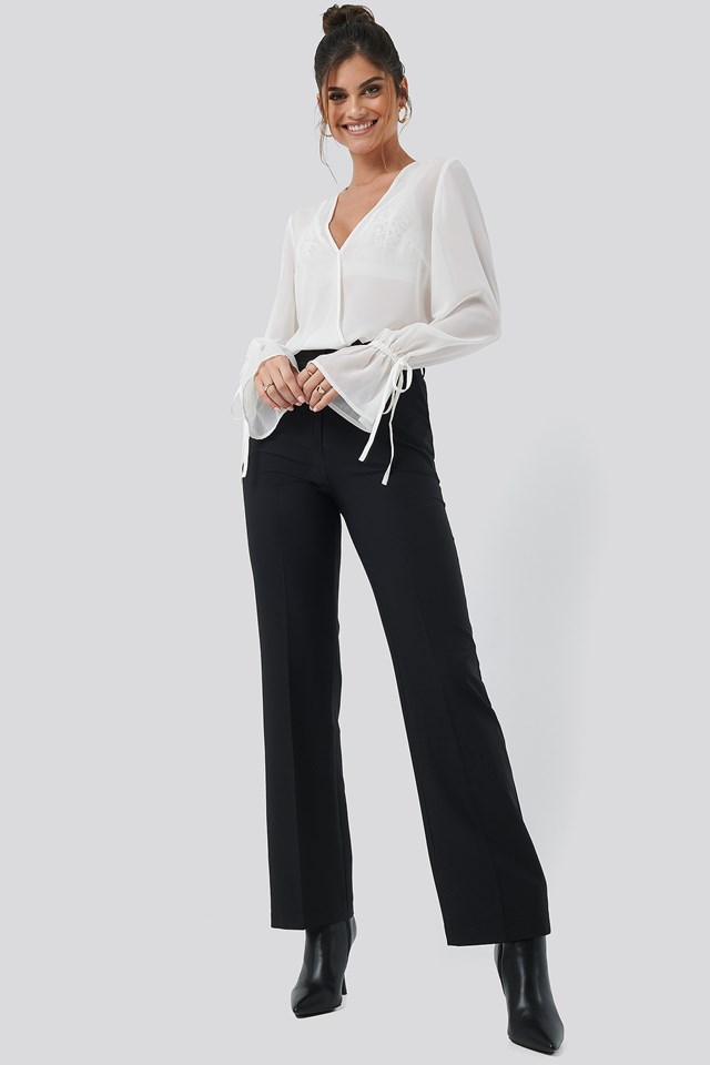 Seamline Suit Pant Black