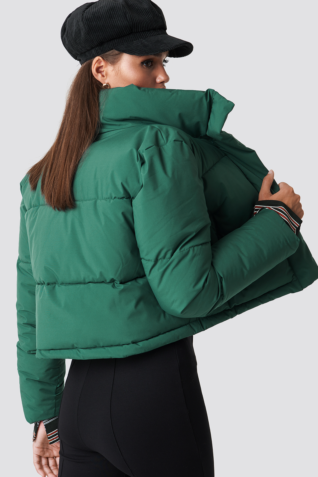 Short Puffy Jacket NA-KD.COM