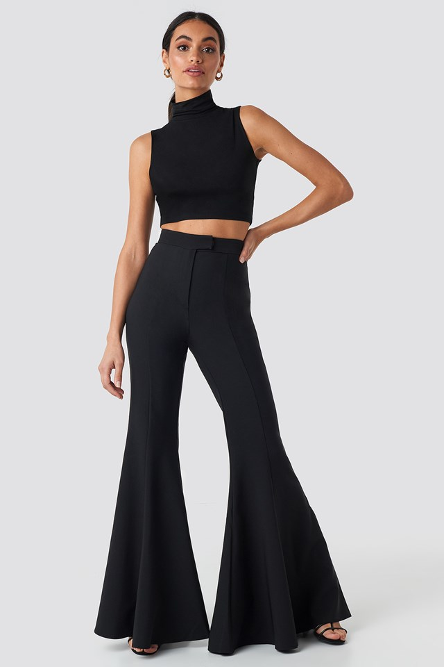 Flowy Pants Black