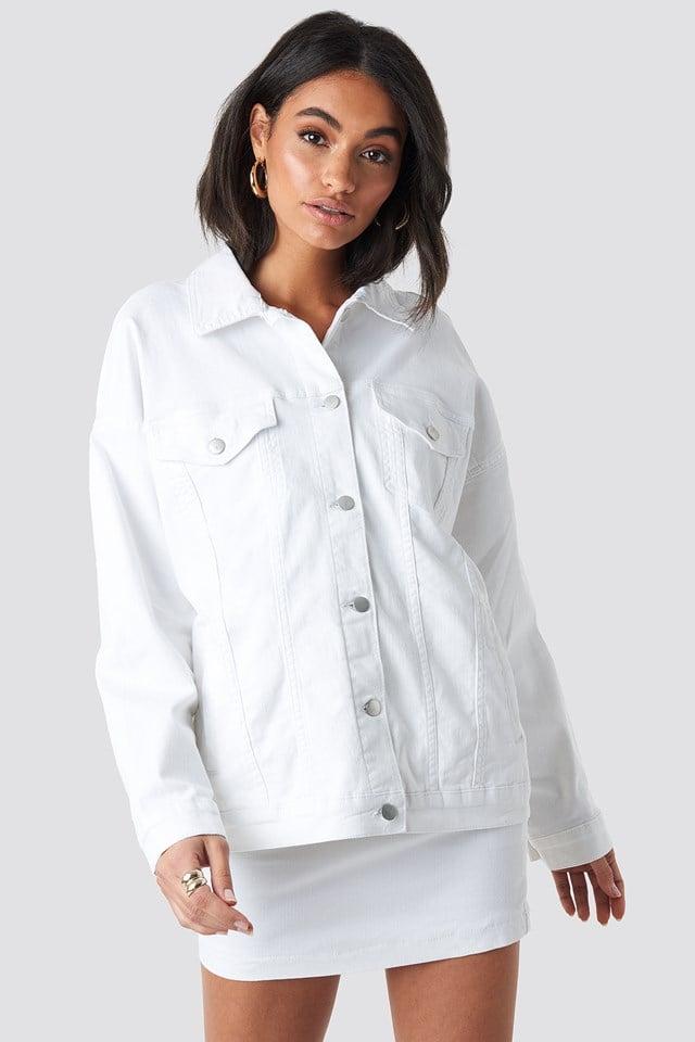 Oversized Denim Jacket NA-KD.COM