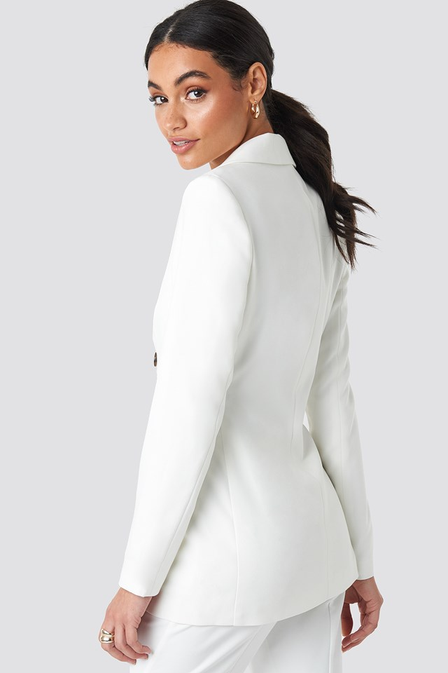 Tailored Blazer Off White