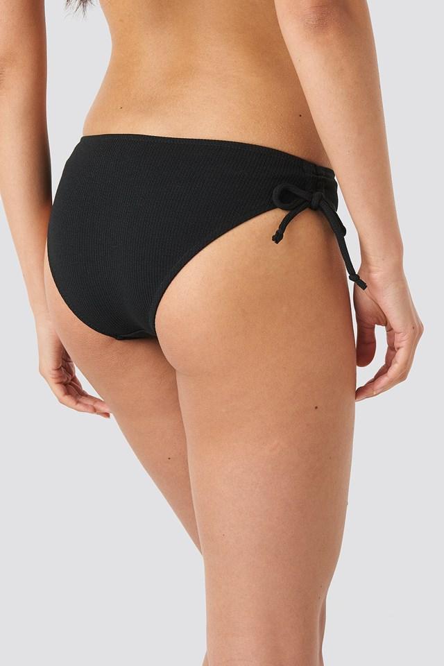 Cheeky String Side Panty Black