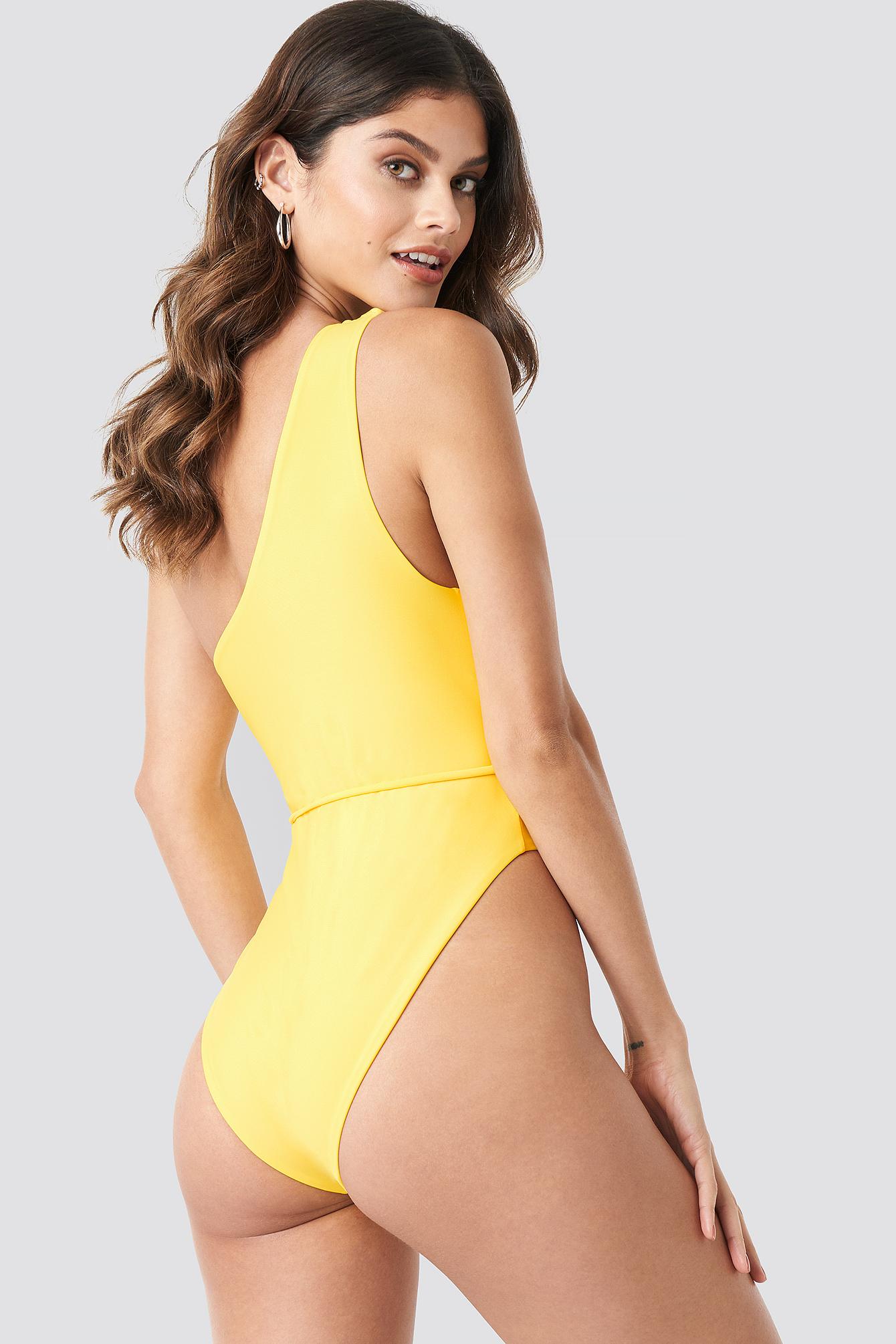 One Shoulder Swimsuit NA-KD.COM