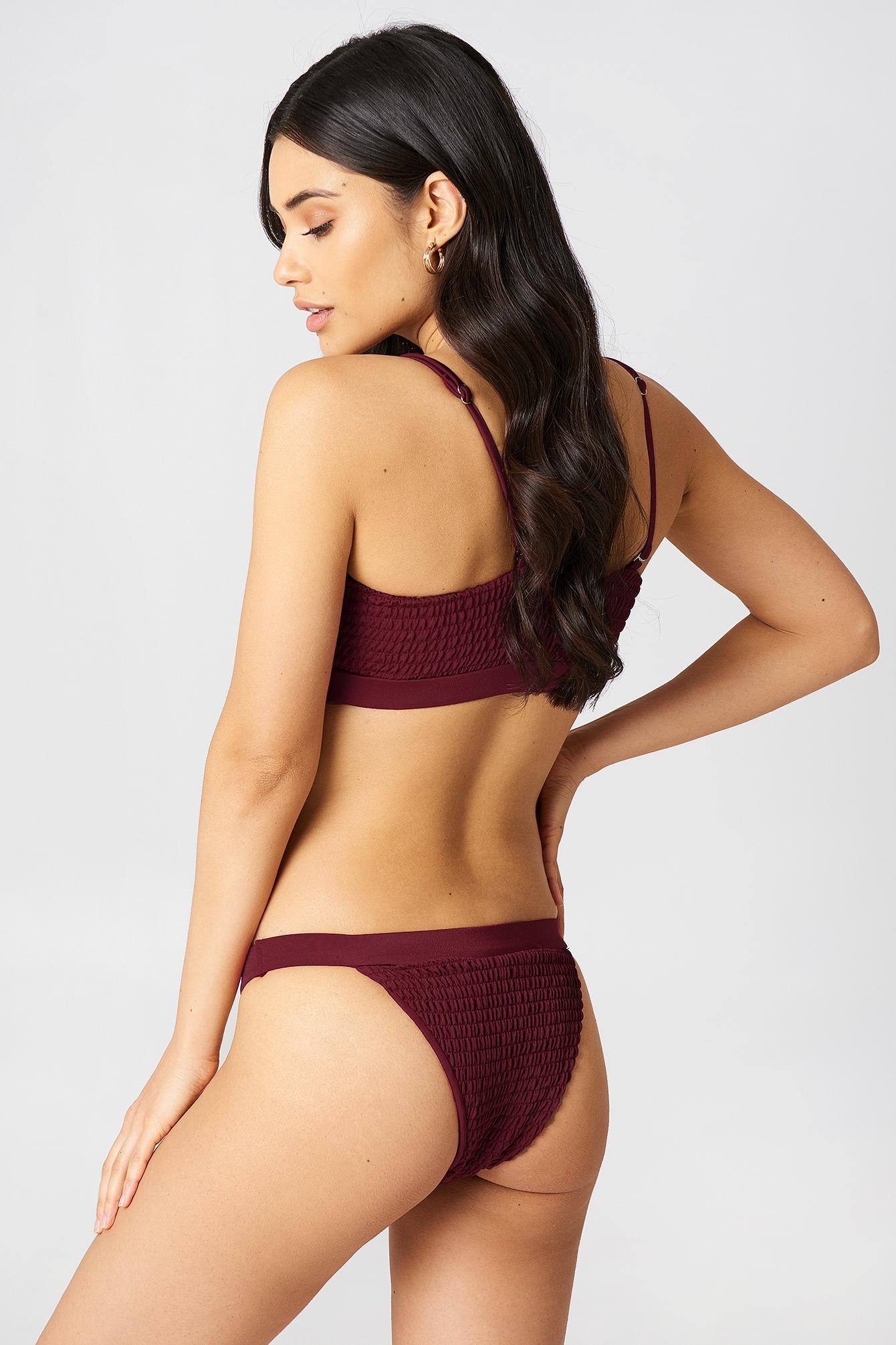 Sportowy dół bikini Wrinkled NA-KD.COM
