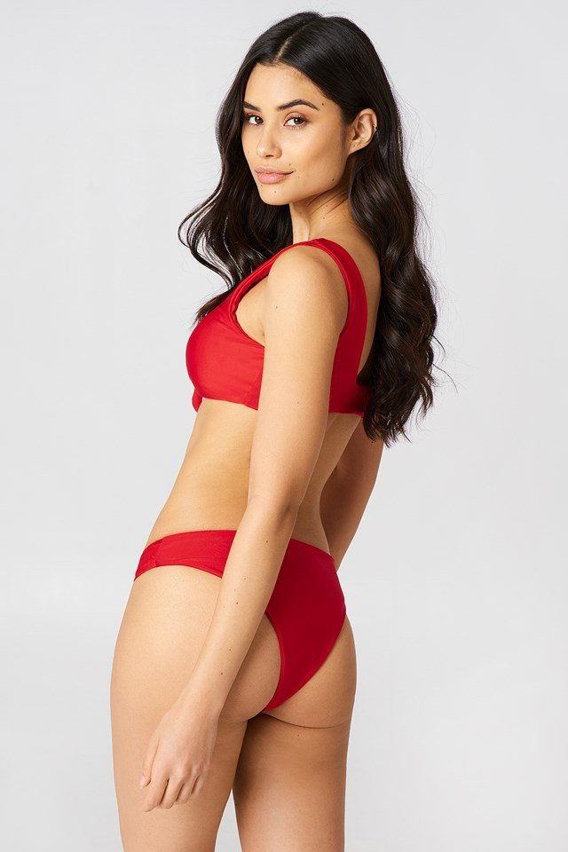 The Bikini Panty Red