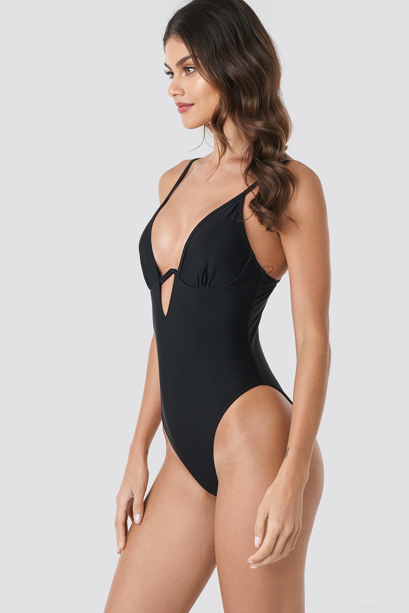 V Shaped Swimsuit NA-KD.COM