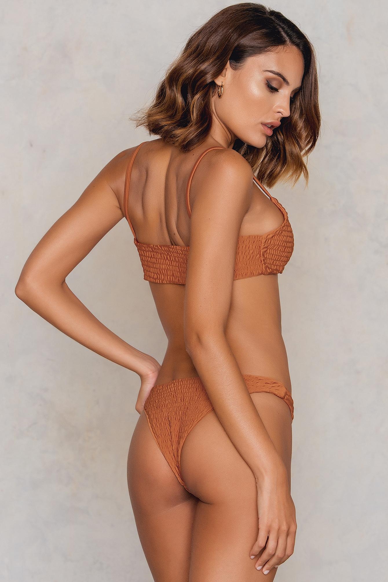 Dół bikini Wrinkled NA-KD.COM