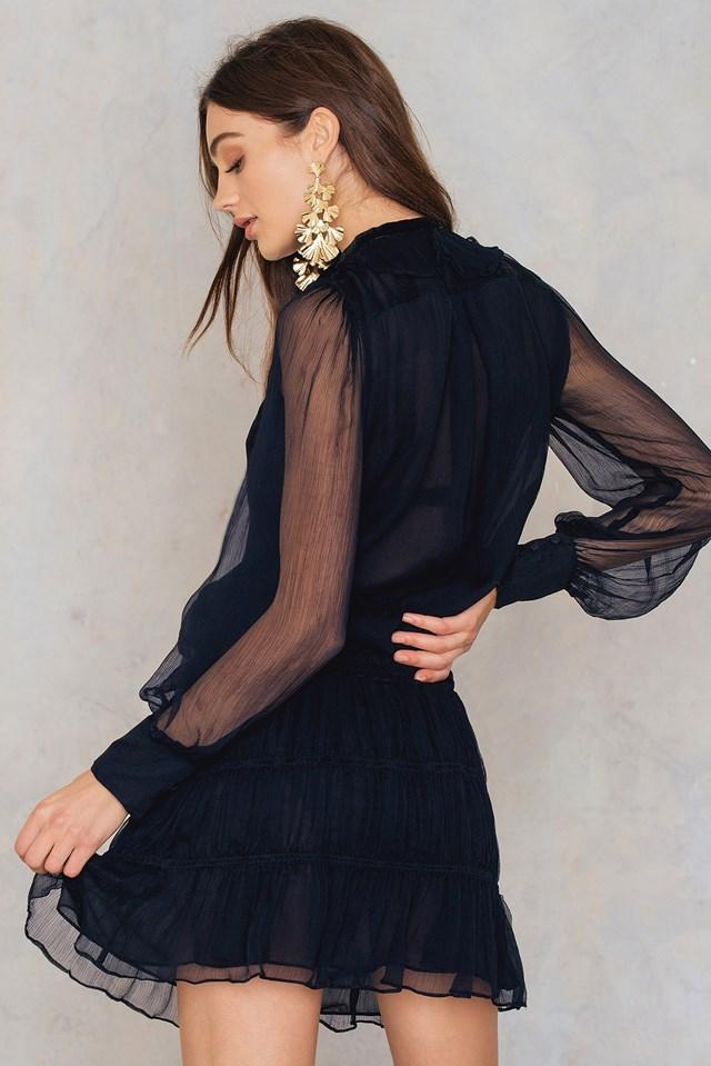 Ada Dress Almost Black
