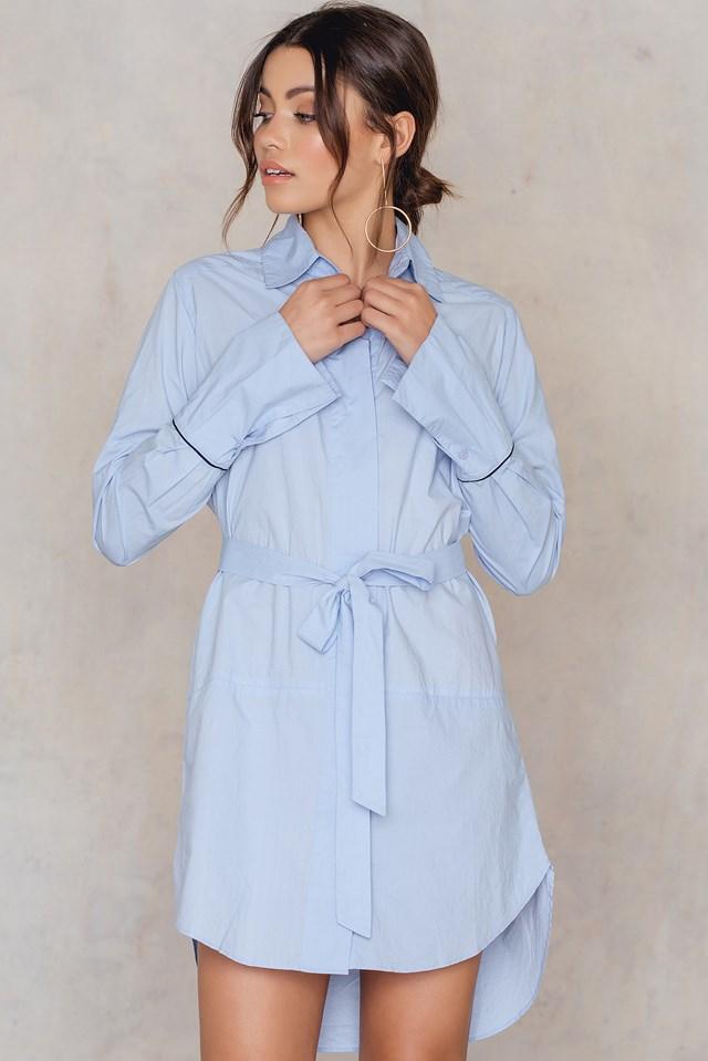 Broadcloth Camise Sky Blue