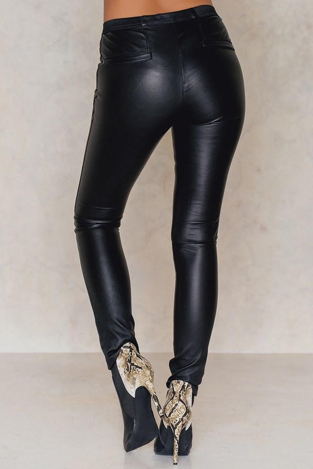 Leather Huggers Black