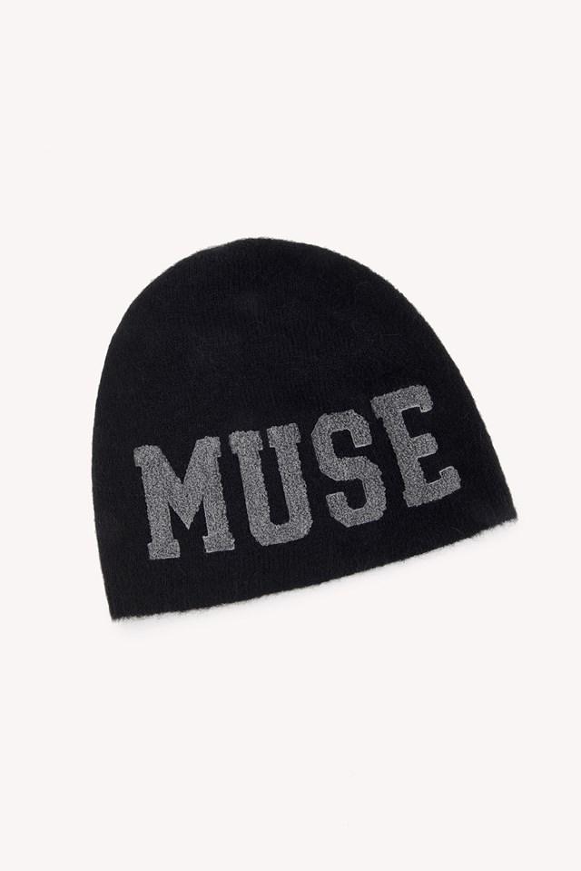 Muse Cap Almost Black