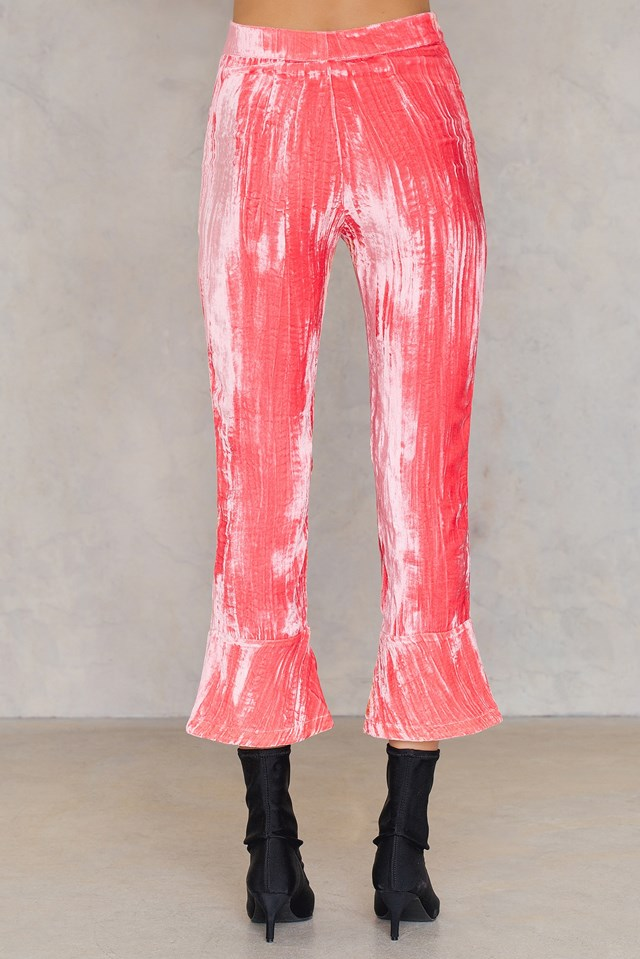 Office Trousers Coral