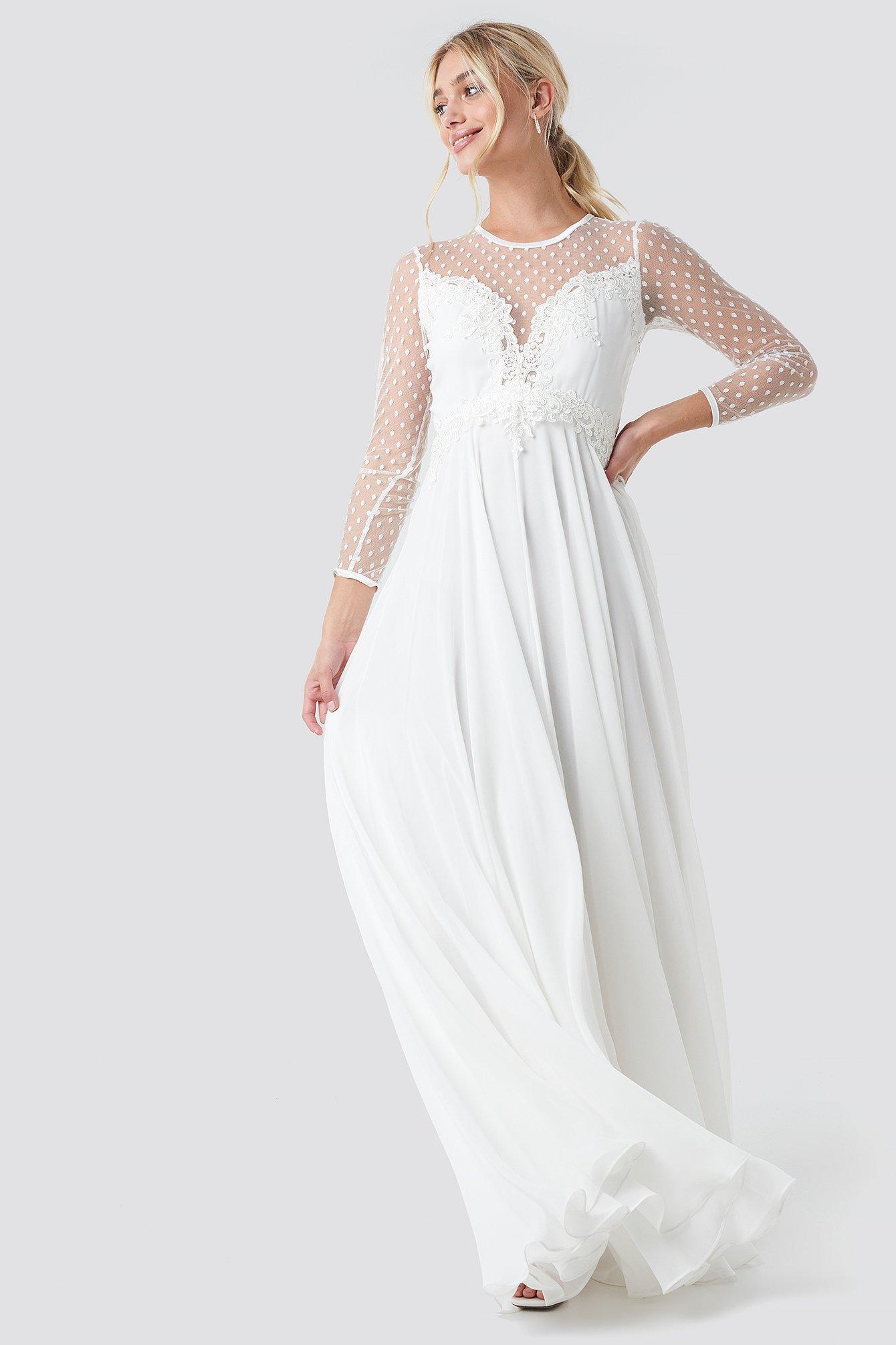 Ida Sjöstedt Alicia Dress - White