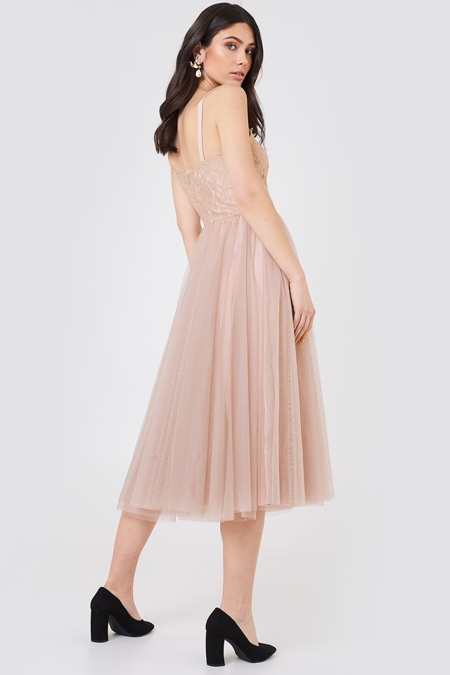 Amanda Dress Mink