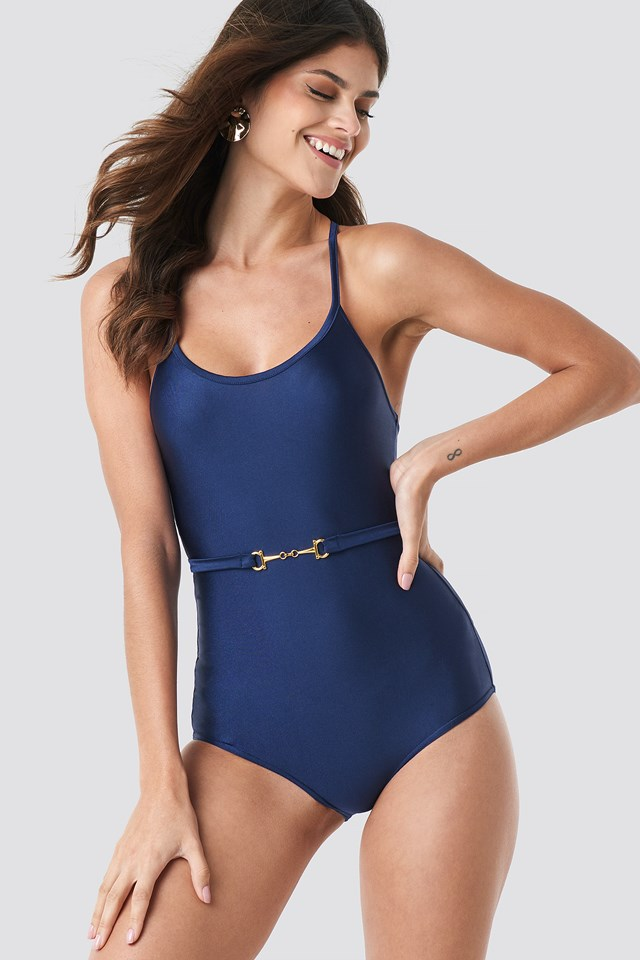 Bella Swimsuit Navy