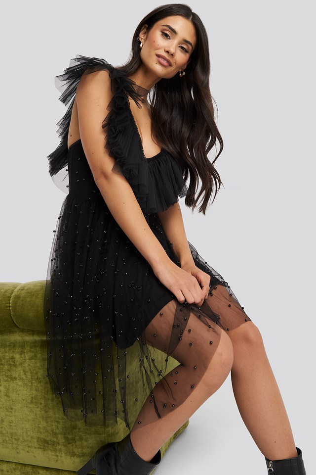 Cecile Dress Black