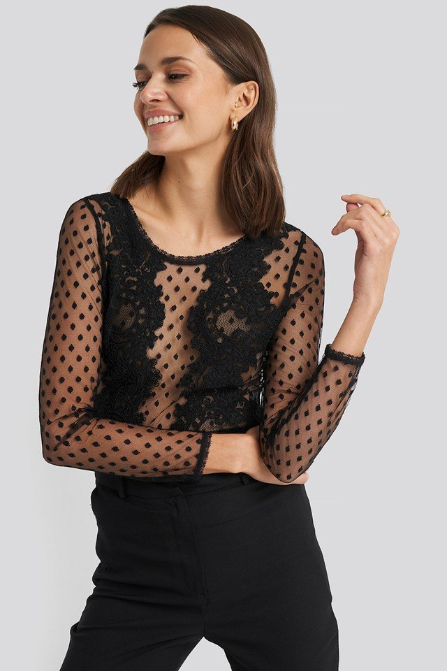 Covet Top Black