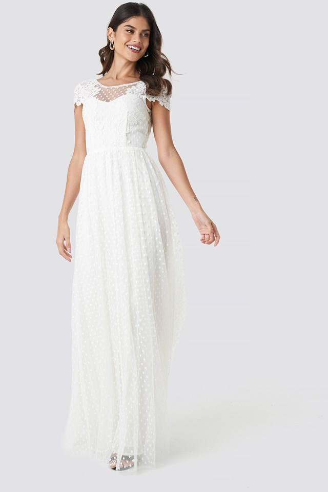Dancer Maxi Dress Ivory