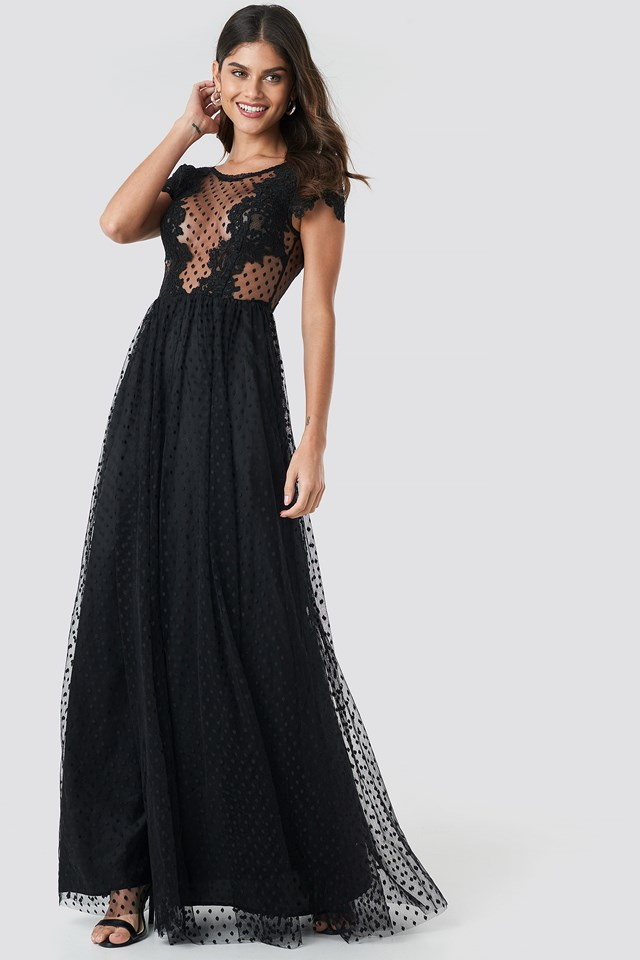 Dancer Maxi Dress Black