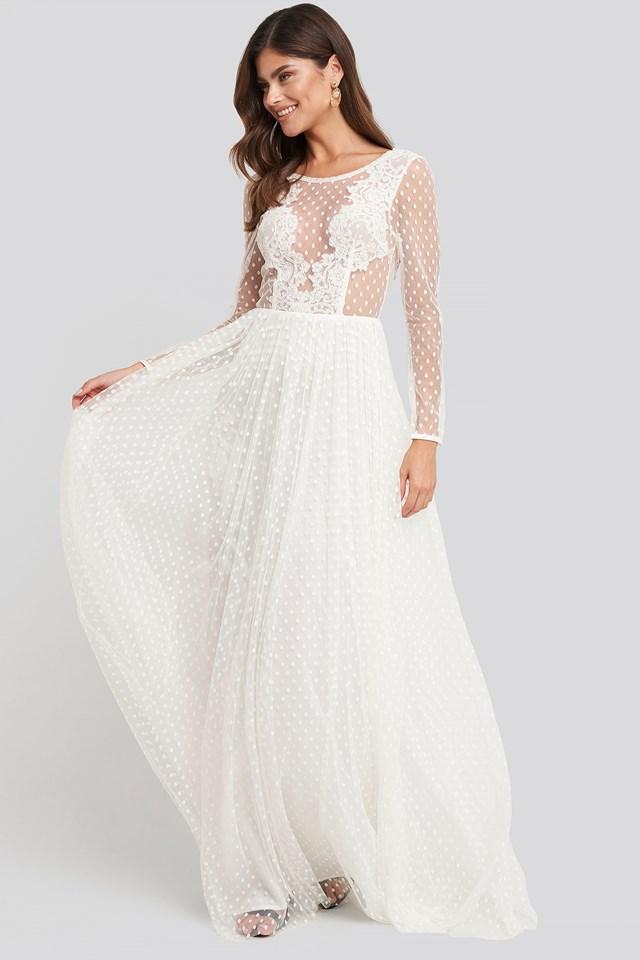 Emily Dress Ivory