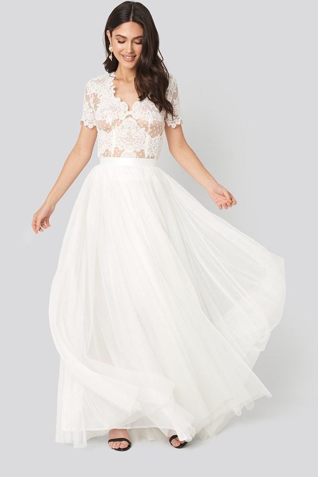 Farrah Skirt Ivory