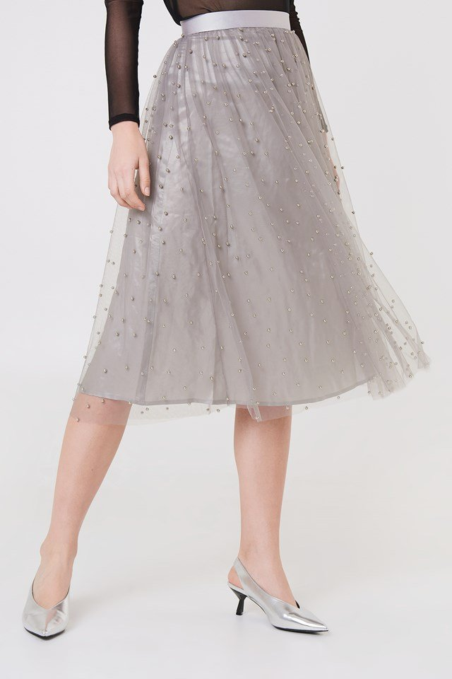 Khloe Skirt Grey