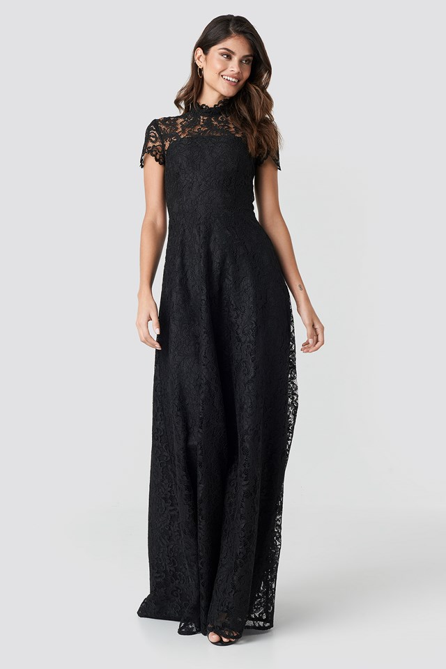 Siren Maxi Dress Black