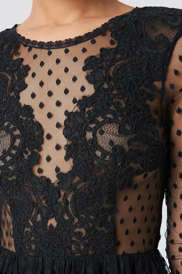 Tang Dress Black