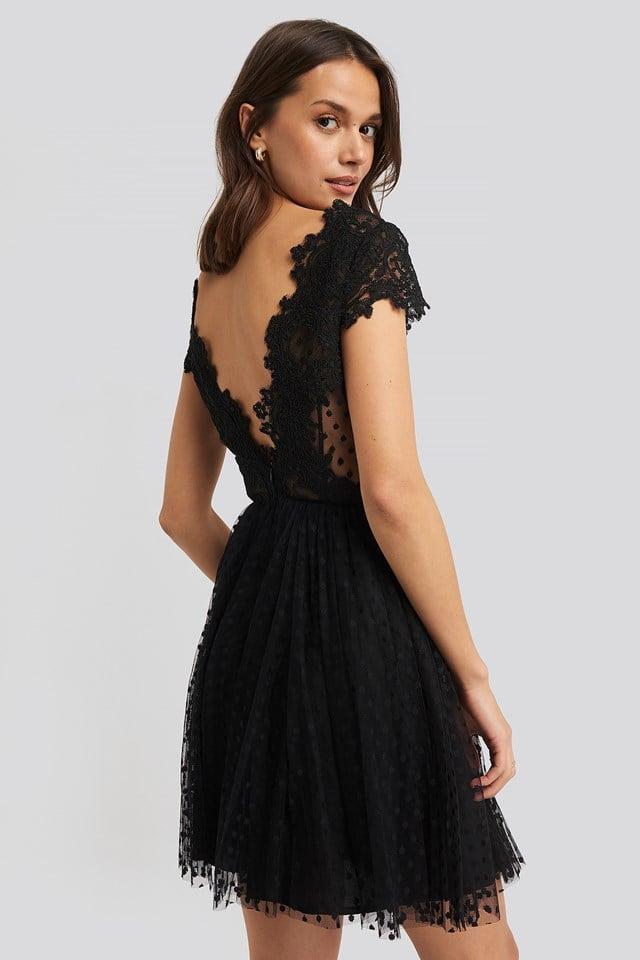 Taranne Dress Black