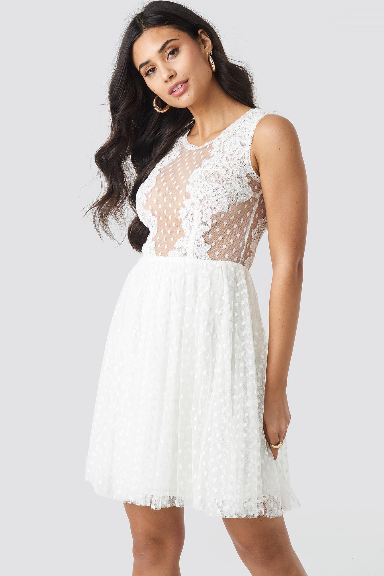 Ida Sjöstedt Trixie Dress - White