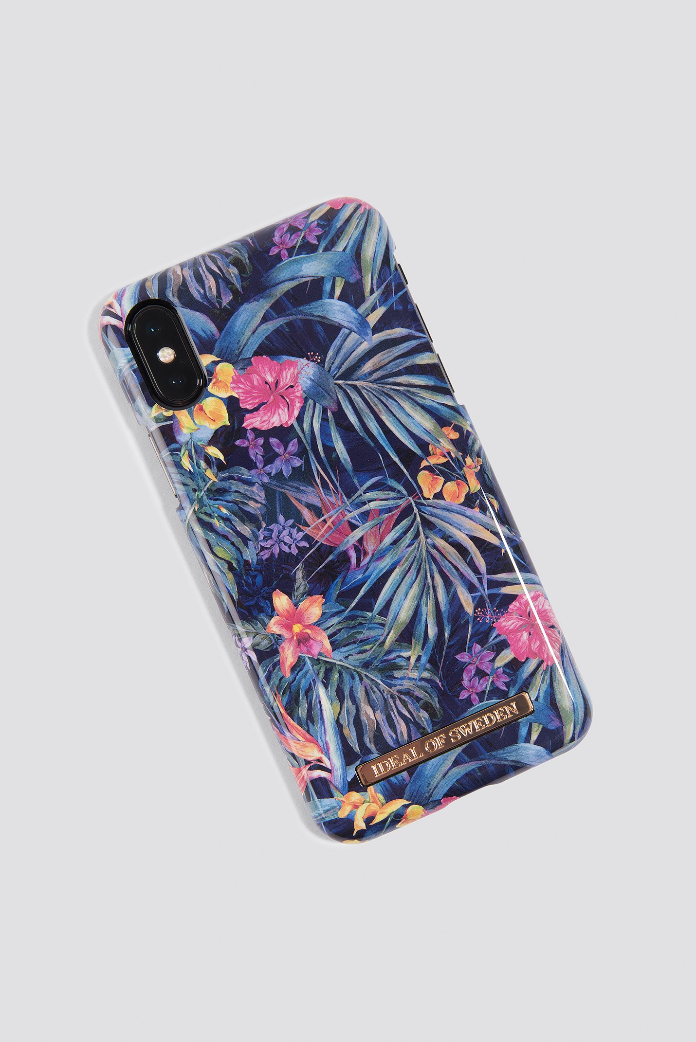IDEAL OF SWEDEN MYSTERIOUS JUNGLE IPHONE X CASE - BLUE, MULTICOLOR