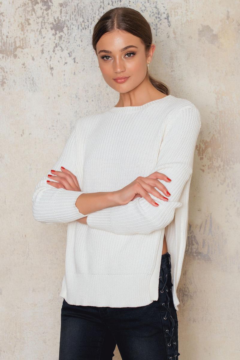 Sally & Circle Alegra knit White, Offwhite