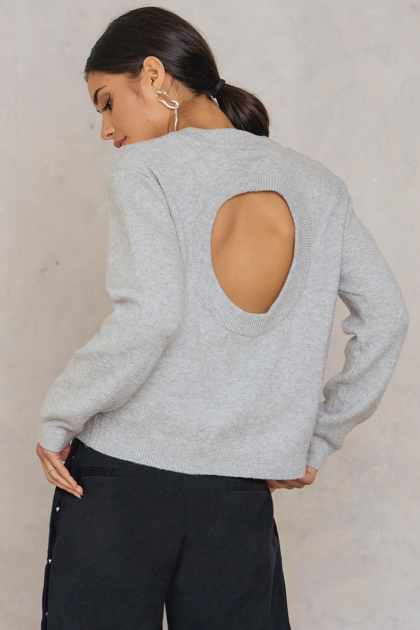Cheap Monday Open Knit Grey