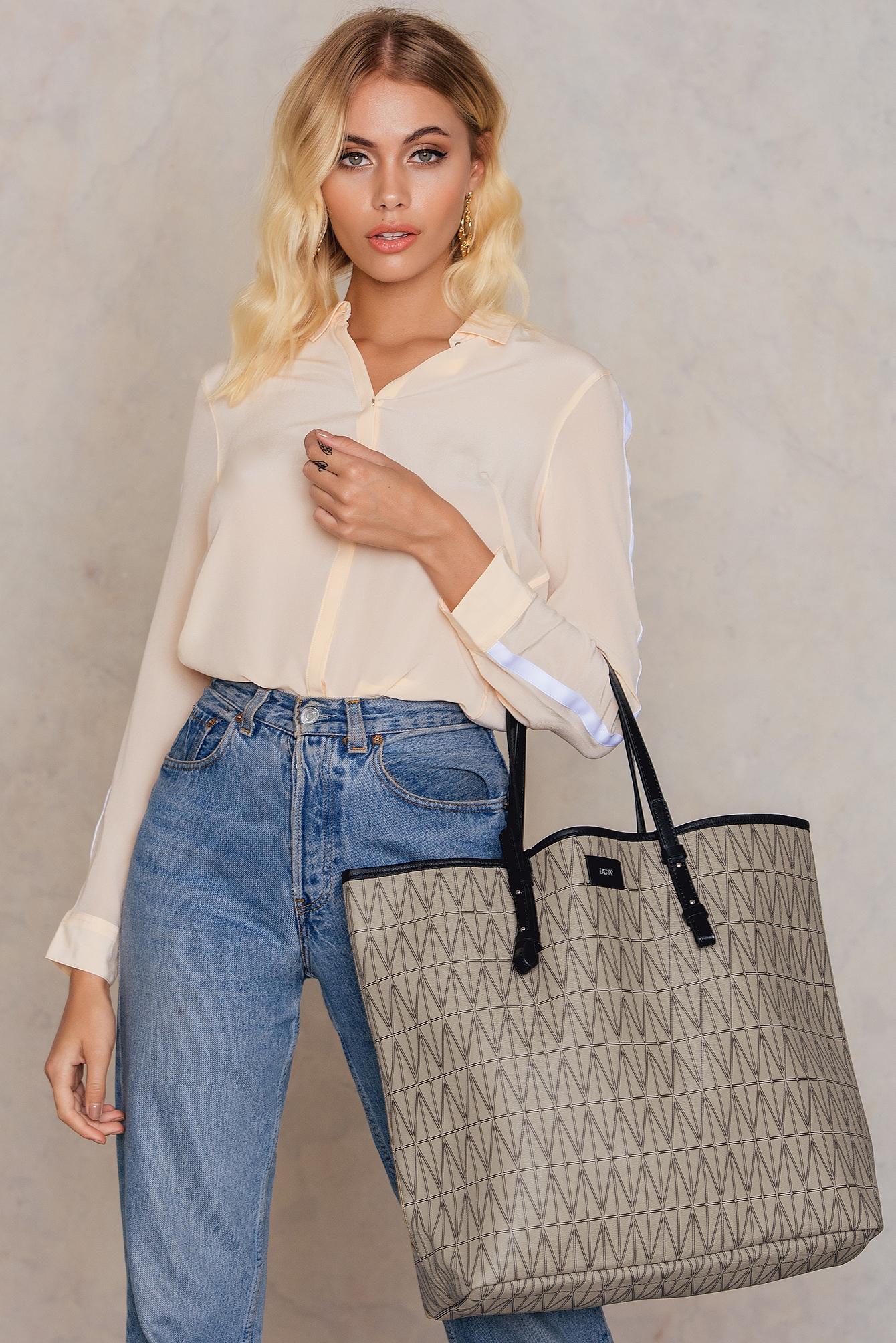 Dagmar Shopping Bag Beige