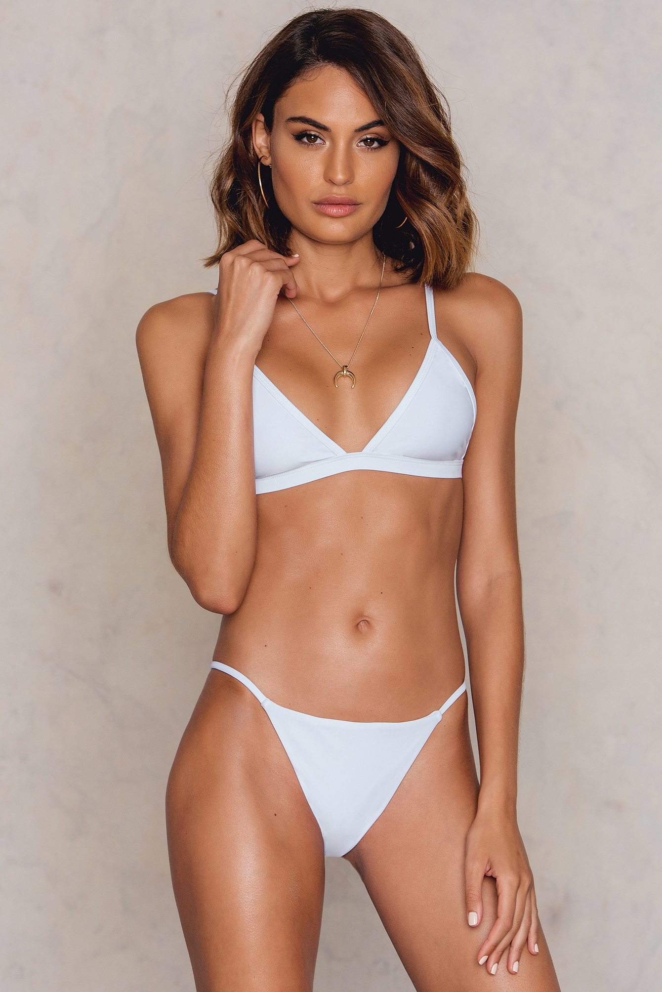 Hot Anatomy Brazilian Bikini Panty White
