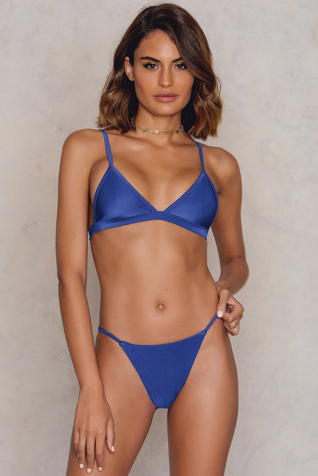 Hot Anatomy Brazilian Bikini Panty Blue