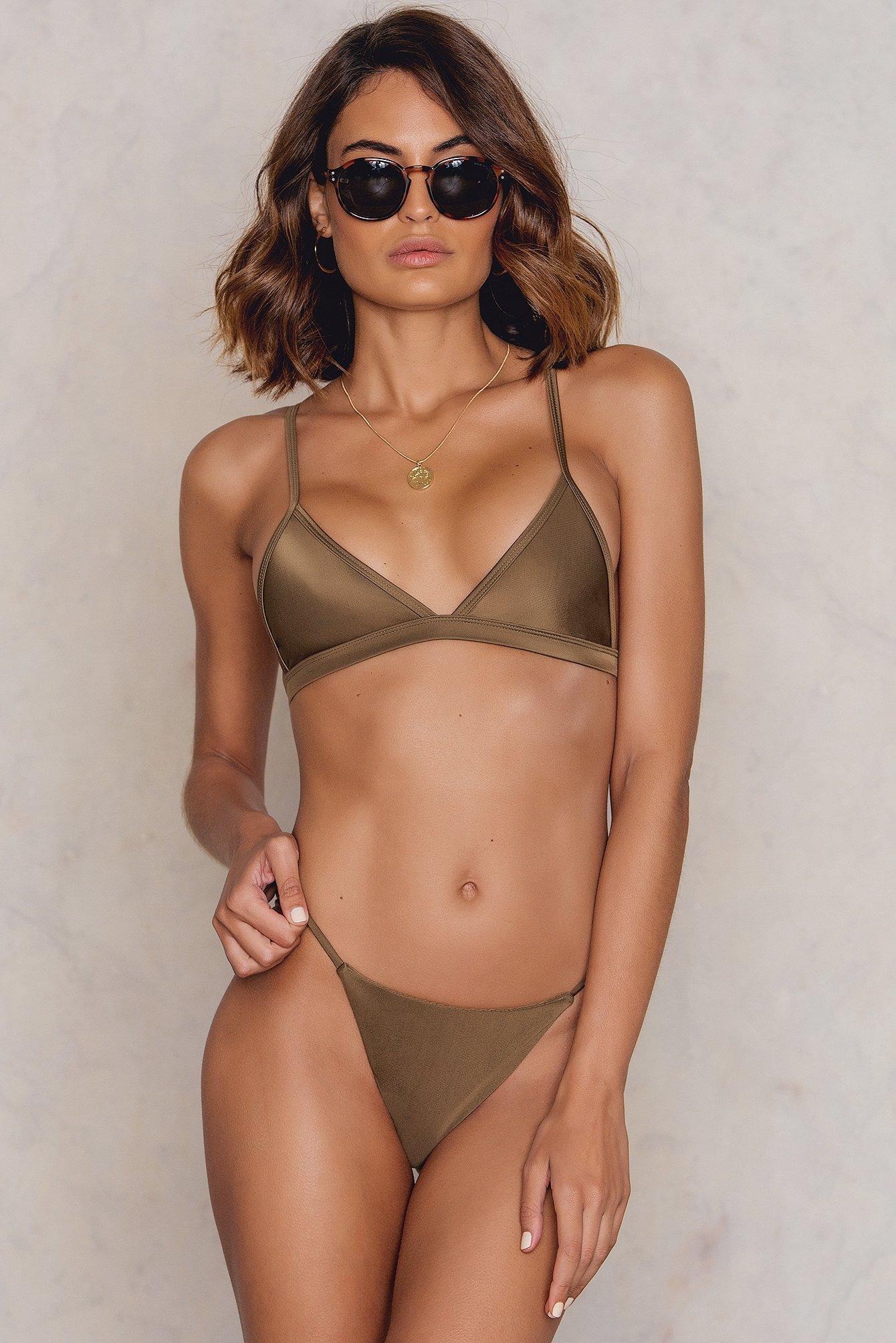 Hot Anatomy Brazilian Bikini Panty Brown