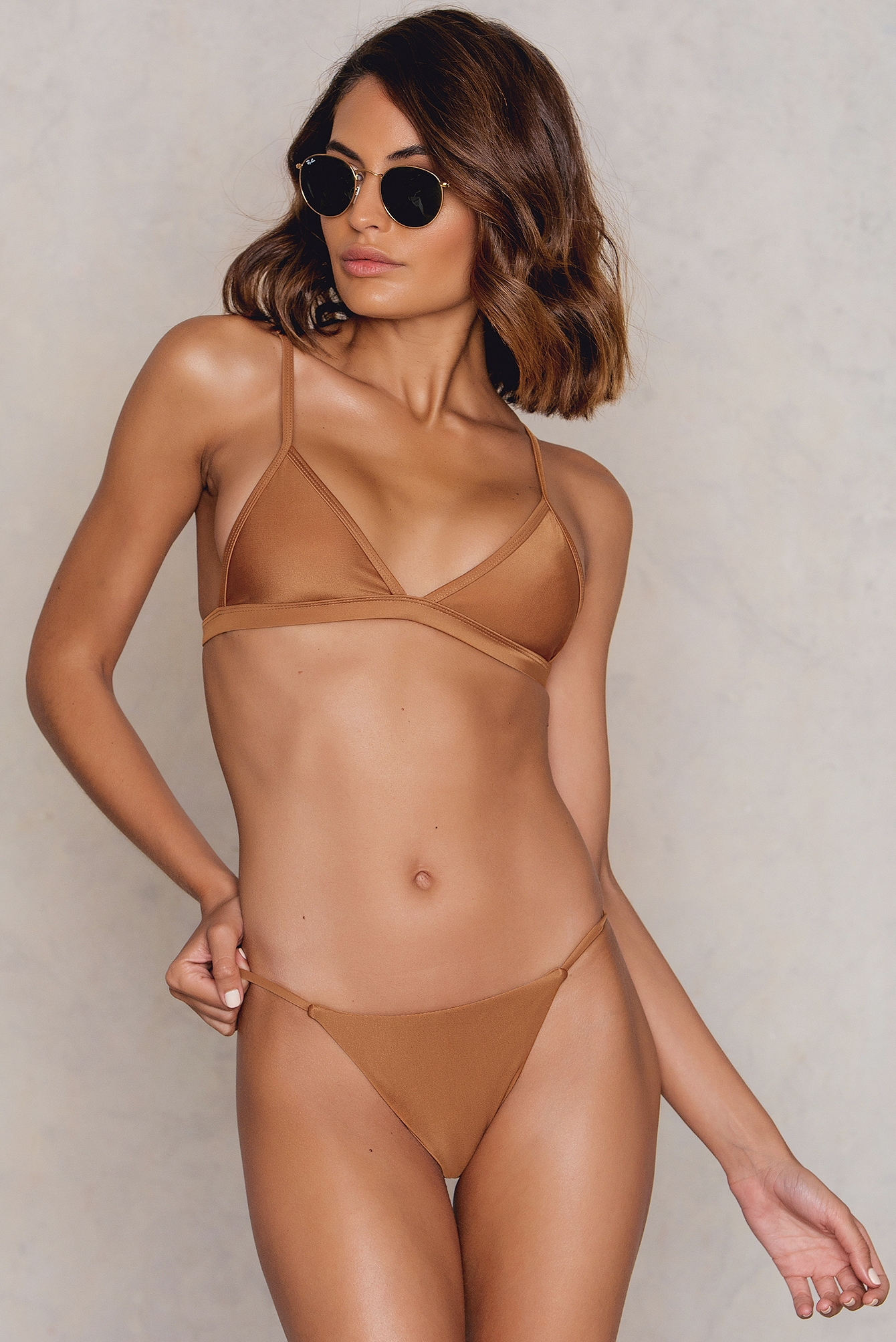 Hot Anatomy Brazilian Bikini Panty Copper