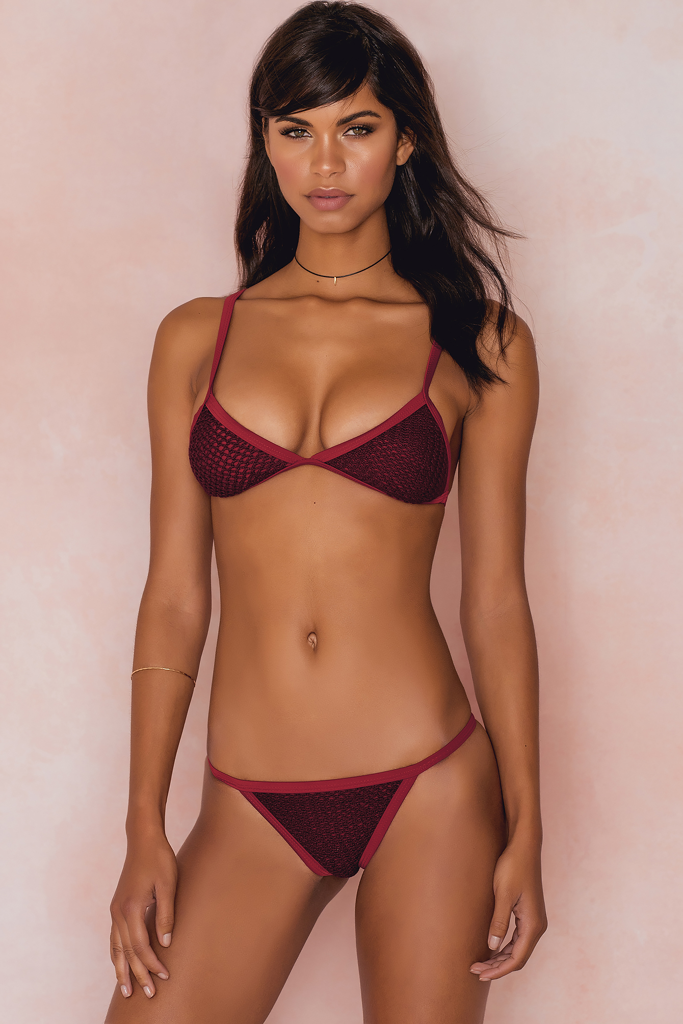 Hot Anatomy Riviera Bikini Panty Red