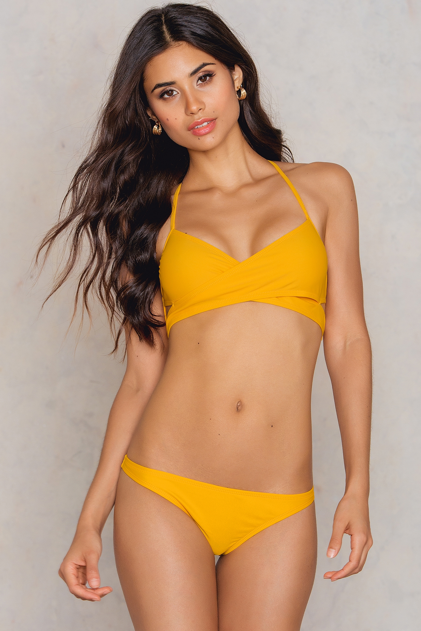 NA-KD Swimwear Bikini Panty Orange